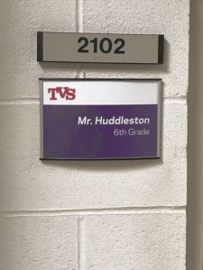 TVS honors history of school in project