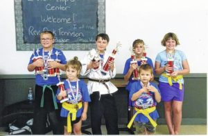 PC youth compete in martial arts tourney