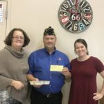 American Legion Post 215 donates to PCCOA