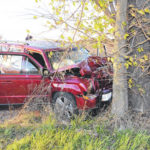 One dead after single-vehicle crash in West Alexandria