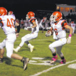 Ansonia runs over National Trail in a CCC football game