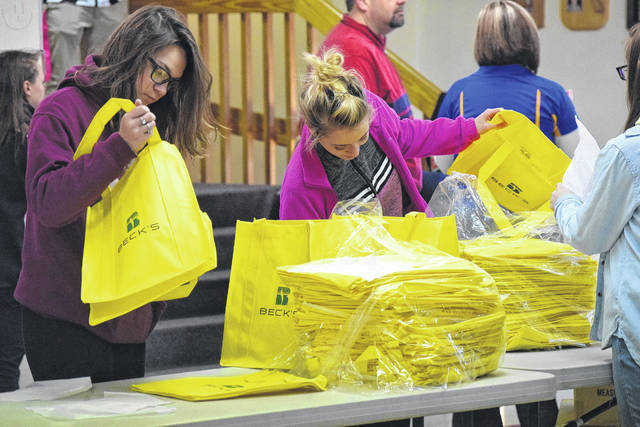 All 40 of the student participants were NT FFA members who volunteered their time to create the Bag of Hope, and can use the experience to receive degrees from FFA. There were also parents volunteering their time, as well as representatives from Cargill Cares and an FFA alumni.