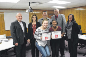 PS students recognized for accomplishments