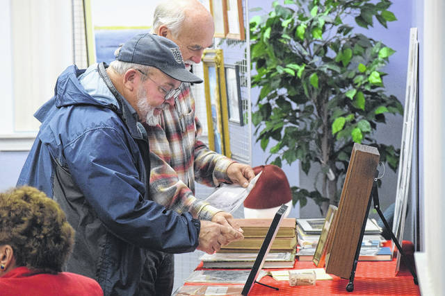 The Eaton Library honored the 100th anniversary of the United States involvement in WWI on Saturday, Nov. 18, with a program celebrating those from Preble County who served.