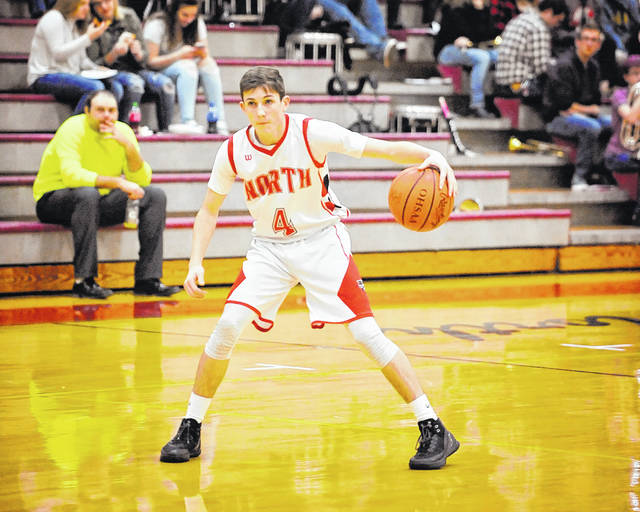 Junior guard Brian Stinson will play a key role for Tri-County North as the Panthers look to have a turn around season.