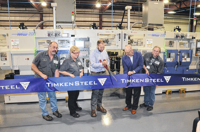 TimkenSteel, a provider of customized alloy steel products and services, celebrated its recent expansion with a special ribbon-cutting ceremony last month. TimkenSteel's St. Clair facility, located in Eaton, celebrated the commissioning of its new production lines which were part of an $8.98 million reinvestment project to support their customers in the automotive and industrial markets.