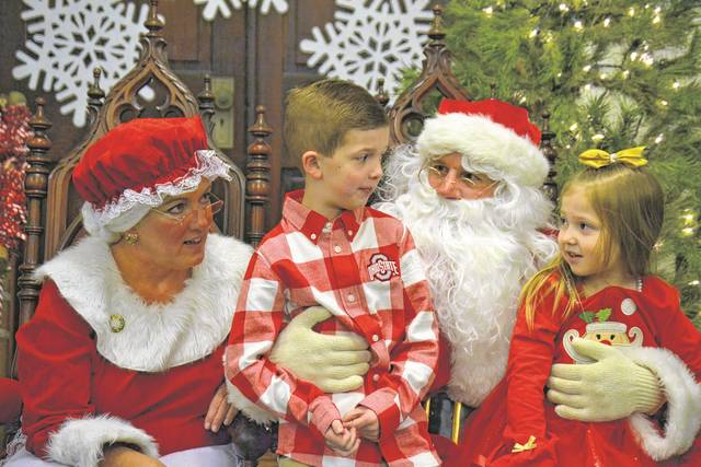 The United Methodist Church, located at 120 N. Maple Street in Eaton, held its second annual Breakfast with Santa on Saturday, Dec. 9.