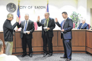 City of Eaton has new, but familiar mayor