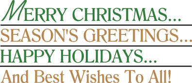 Merry Christmas and Happy Holidays from the staff at <em>The Register-Herald. </em>
