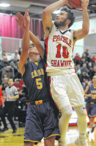 Preble Shawnee's boys' basketball team off to 3-0 start with wins over Eaton, Milton-Union and National Trail