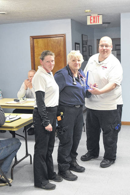 Lieutenant Pat Kincer of WAEMS was recognized as 'Volunteer of the Year' during the council meeting on Tuesday, Jan. 16.