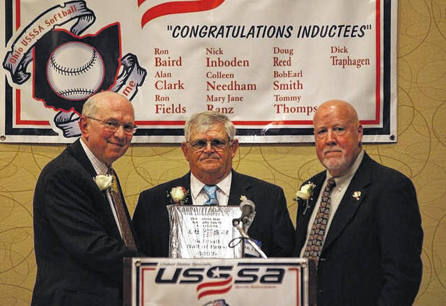 Eaton native Earl Smith was inducted into the United States Specialty Sports Association (USSSA) Hall of Fame on Sunday, Dec. 3. Smith has been involved with sports — playing, organizing, umpiring, and observing — in Preble County for almost 50 years.
