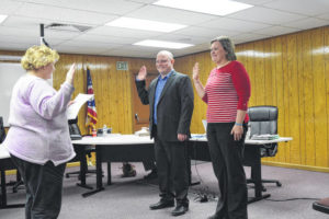 PS BOE swears in new board members