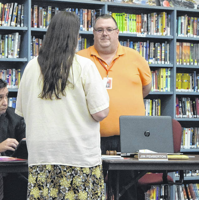 Jim Pemberton was elected as Twin Valley South's Board of Education President.