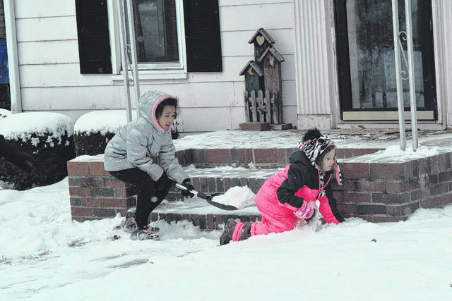 Baby, it's cold outside — at least it was the first week or so of the new year. Preble County was blanketed in snow to welcome 2018 in style. While the snow made for a beautiful sight, unforgiving temperatures also overtook the area. As the second week of 2018 comes to a close, warmer than normal temperatures were forecast to switch the weather from snowy to rainy — and then back again. Remember to be prepared regardless of what Mother Nature throws at us this winter. Some winter preparedness tips include: wearing layers when working or going outside — frostbite can happen within 30 minutes. Drive slowly and carefully, carry a winter survival kit, make sure your cell phone is always charged, and listen to the snow emergency levels. If you do not have to go outside in the wintry weather, then don't. Remember to enjoy the snow, but stay safe above all else.