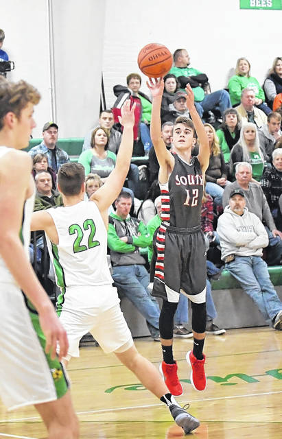 Twin Valley South's boys basketball team faced a tough weekend with games at Bethel and Fenwick. On Friday, the Panthers lost 64-35 to Bethel and suffered a 65-42 loss to Fenwick.