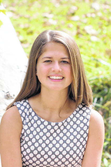 Eaton student Katelyn Niehuas recently competed in the Honors College Awards Competition at BGSU in Bowling Green and has been offered the Presidential Scholars Award from the BGSU Honors College. Niehaus will be attending BGSU in the fall with a major in Middle School Math and Science Education.