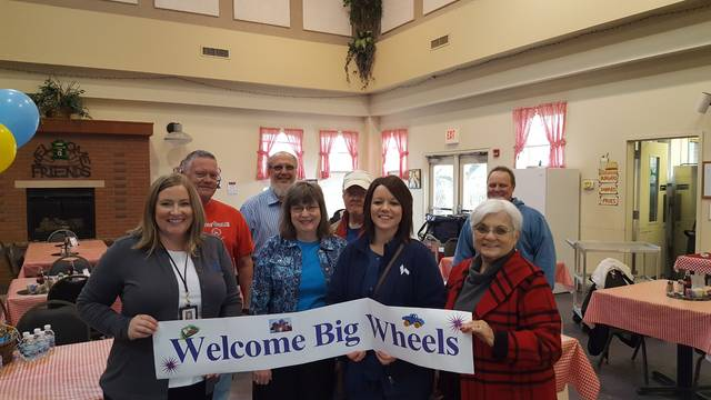 "Pictured are some of the ""Big Wheels"" who served during the 2017 event."
