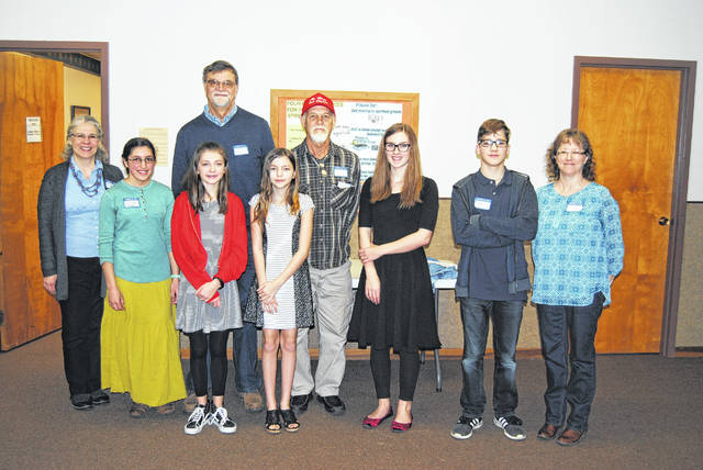 The Classical Conversations home-school community held a science fair at Grace Lutheran Church in Eaton on Jan. 27, 2018.
