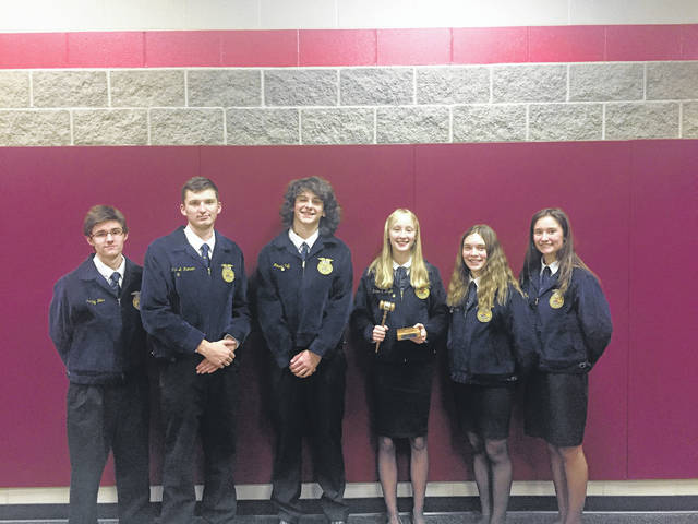 """Eaton MVCTC has a void to fill after five seniors and one junior """"retire"""" from their high school advanced, (varsity), parliamentary procedure team after an astounding fifth place finish at the National FFA Convention this past fall."""