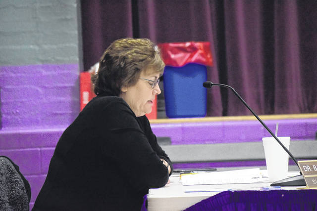 Eaton Community Schools Superintendent Barbara Curry issued her resignation for the purpose of retirement during the board of education meeting on Monday, March 12. Her retirement is effective July 31.