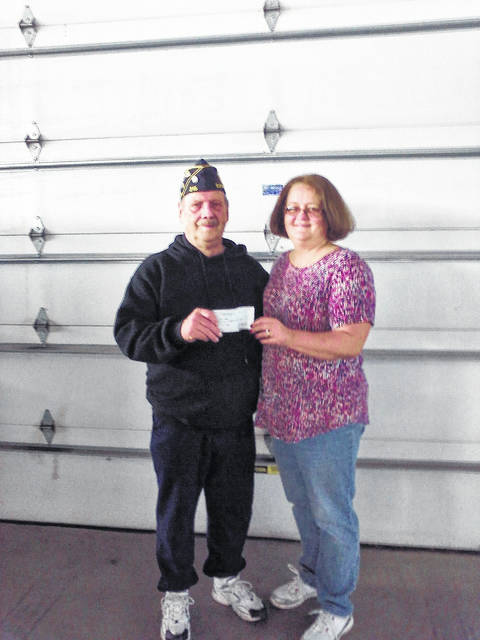 "Jim Favorite, commander with the American Legion Post 215 in Eaton, made a donation of $1,200 to Preble County Council on Aging's Meals on Wheels Program. When asked why they donated to PCCOA, he replied, ""Helping people by feeding seniors seems like a win-win."" The program would like to thank to Favorite and the American Legion for helping them eliminate senior hunger in Preble County. The PCCOA continues to have seniors on their waiting list to receive hot nutritious meals, and this donation helps fill the gap."