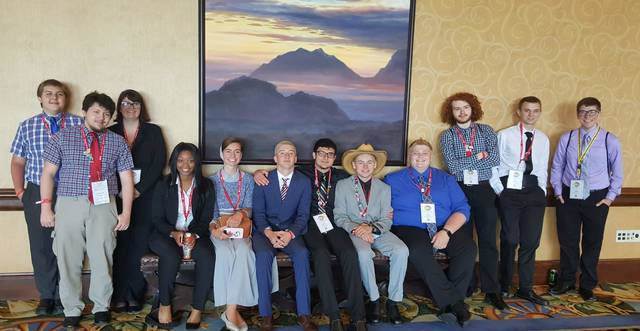 Miami Valley Career Technology Center (MVCTC) had 13 students qualify to compete in the National Leadership Conference of Business Professionals of America (BPA) in Dallas, Texas, May 9-13.