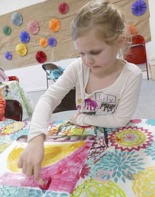 "Summer Arts Kick Off is offering kids ""try it out"" summer arts activities, face painting and more."