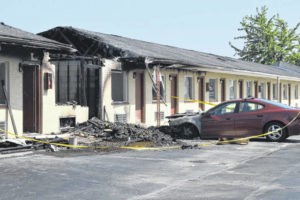 New Budget Inn fire investigation ongoing
