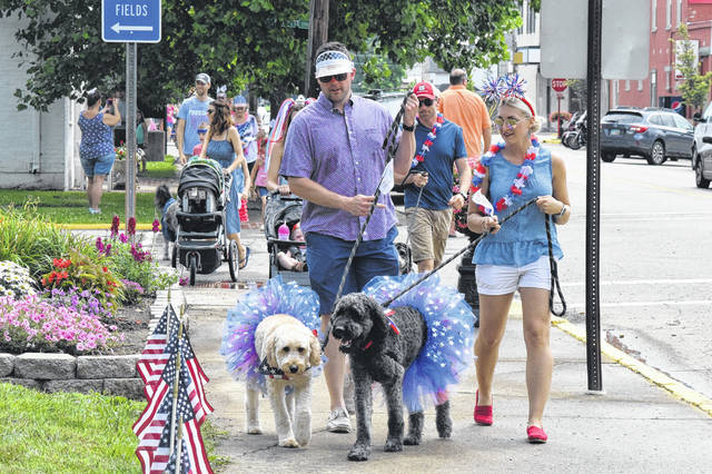 The Village of Camden celebrated its 200th birthday with a pet parade on Wednesday, July 4. According to Bicentennial PR Committee Member Donna Cross, the pet parade was a way to tie Camden's past with their present, as the village celebrated the centennial with a pet parade.
