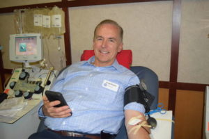 Reid blood drive bustling on eve of Independence Day