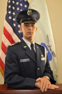 Garrett honored by Civil Air Patrol