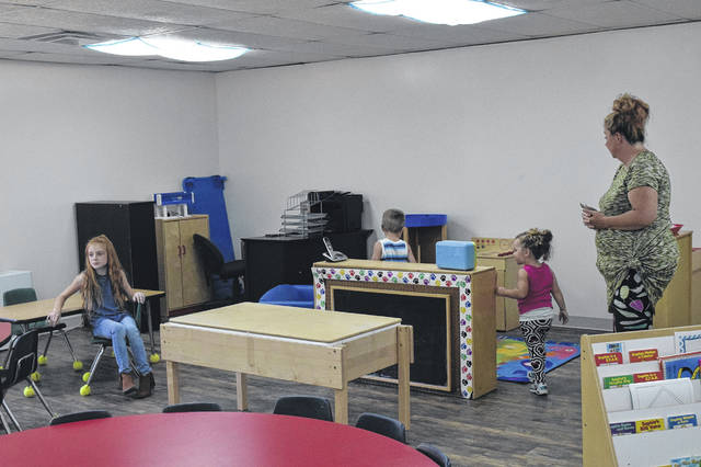 Preble County Head Start celebrated its fifth year in operation on Tuesday, Aug. 14. They also debuted a brand new classroom at the Camden office building.