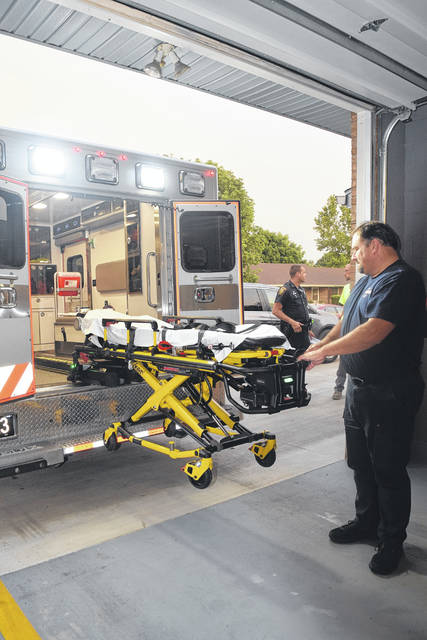 The Village of West Alexandria received a grant from Ohio Bureau of Workers' Compensation (BWC) in the amount of $40,000 to purchase two cot load systems.