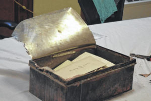 Time capsule opened at courthouse