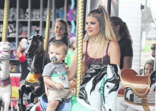 There's still plenty left to enjoy on the last day of the Preble County Fair, whether it's fair food or the fun of watching competitions like the demolition derby. The midway gives children and families a chance to enjoy games and traditional amusement rides.