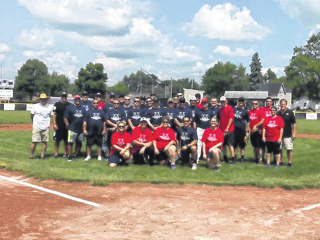 "In an effort to build camaraderie among Preble County police, fire, and EMS departments, the ""Guns N Hoses"" softball game was held on Saturday, Aug. 18."
