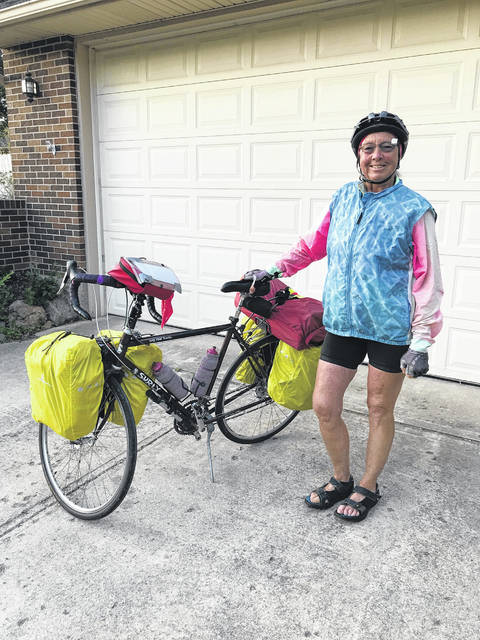 Al Price may be 70 years old, but that did not stop her from cycling across from Wyoming to the furthest parts of Canada. She is now gearing up for her trip back home, where she will cycle Route 66.