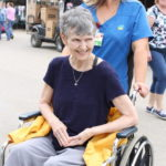 Hospice patient enjoys time at PC Fair