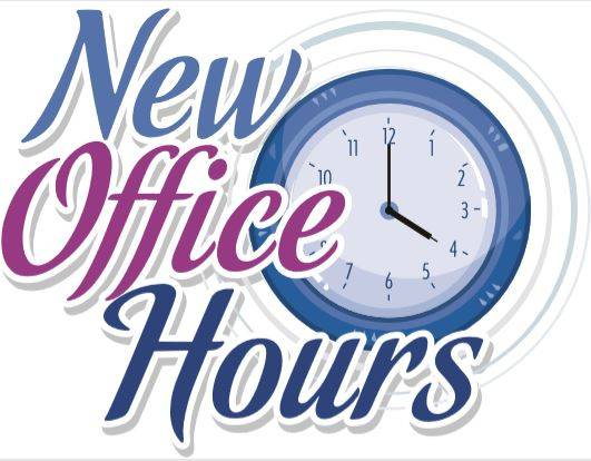New office hours - Register Herald